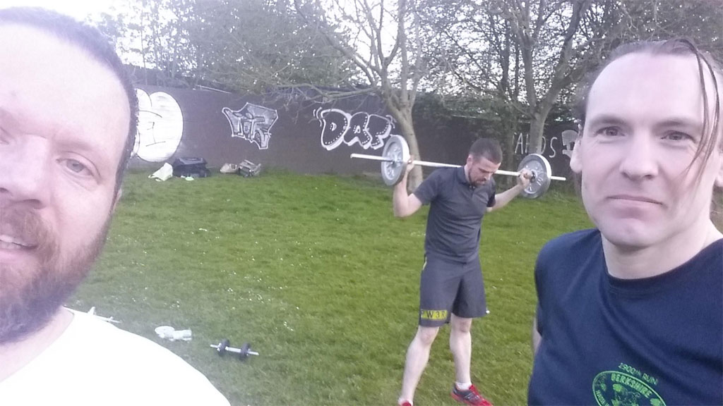 Fitness Training – 5th May 2016