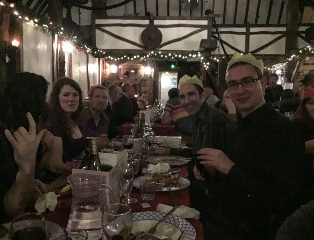 The School of the Sword Xmas Party – 23rd December 2016