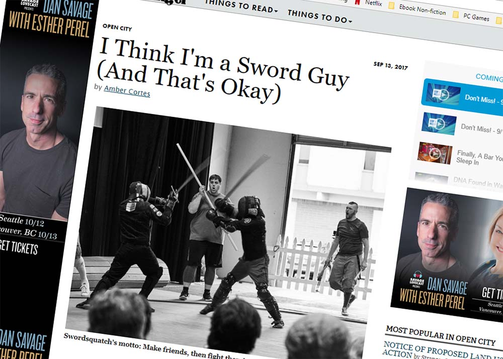 The School Of The Sword Makes Seattle Press