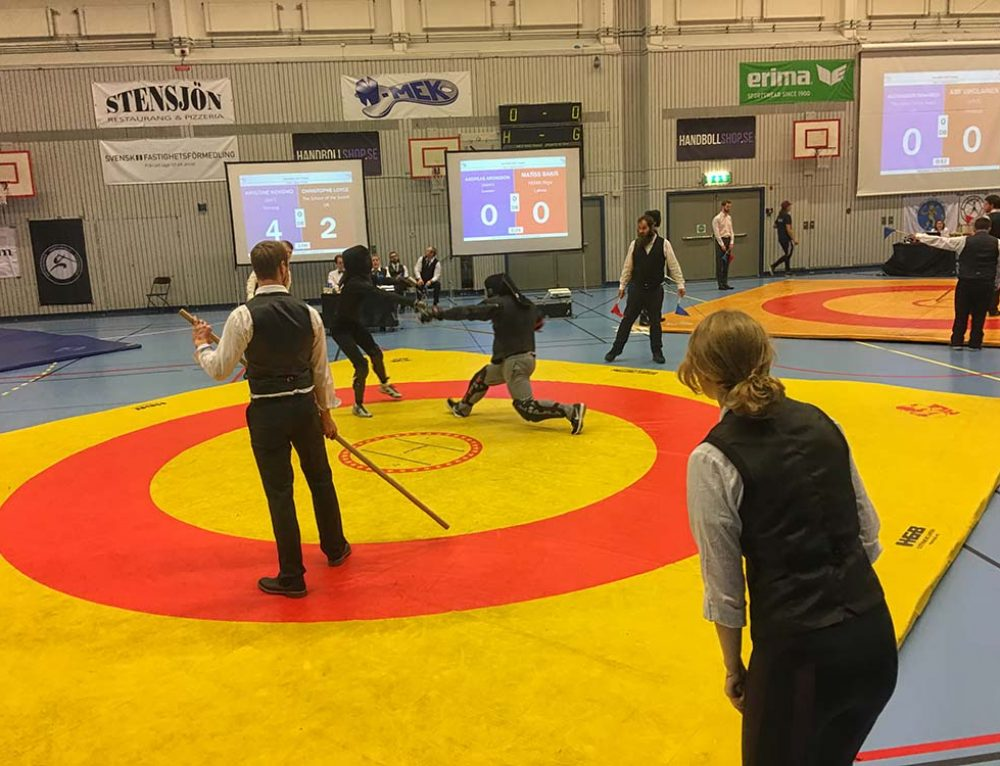 School Of The Sword Sees Success At Swordfish In Sweden