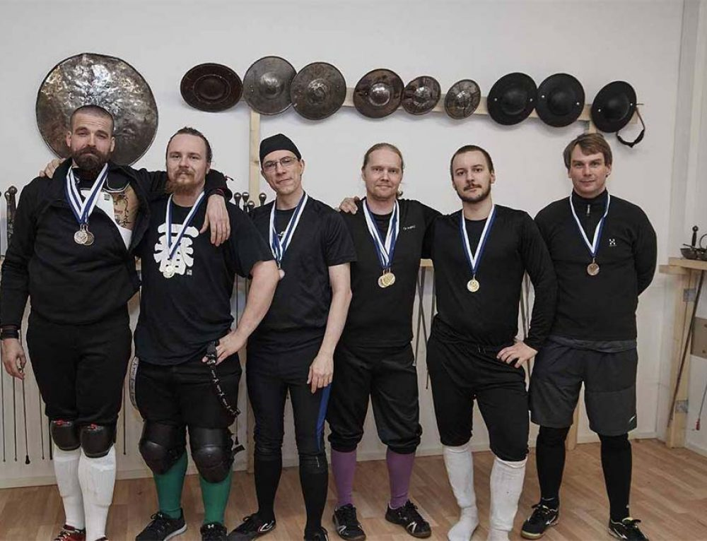 The School of the Sword Brings Back Medals From Finland