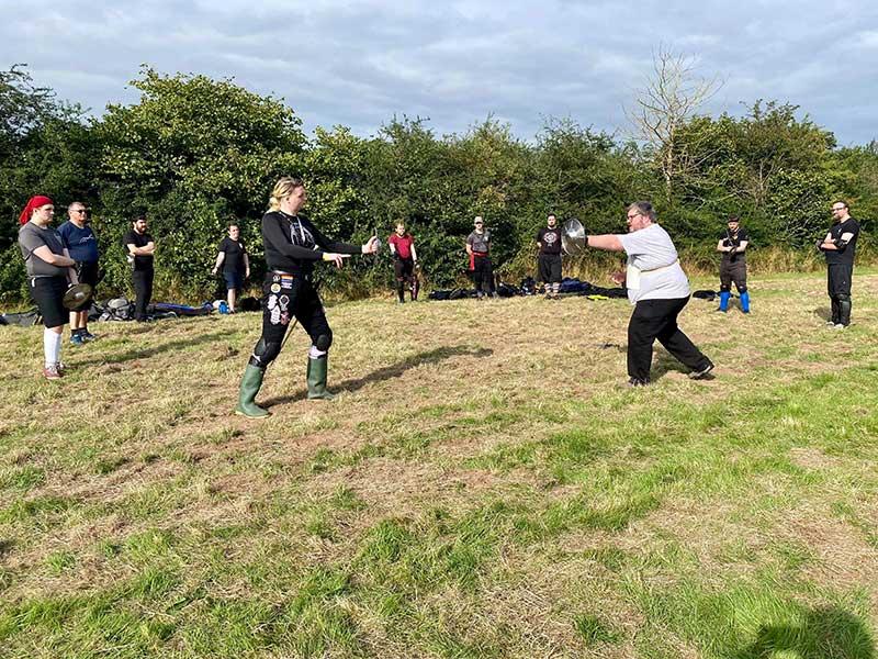 School Of The Sword Goes To Fightcamp 2021